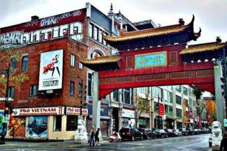زيارة إلى الحي الصيني تورنتو كندا