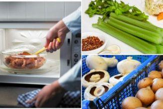 أطعمة تسبب التسمم بعد تسخينها في الميكروويف