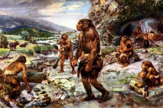 What do you know about the Paleolithic and how man lived in the Stone Age?