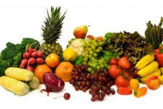 أهمية الخضروات والفواكه