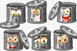 نظرية مكب النفايات