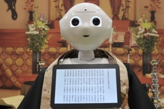 Pepper the robotic is Programmed to carry out Buddhist Funeral Rites