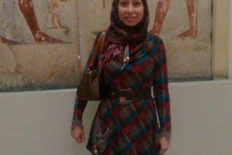 صوره لي من المتحف المصري