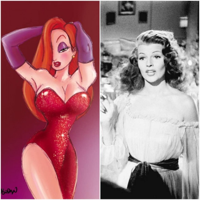 Real Life Inspirations For Famous Cartoon Characters